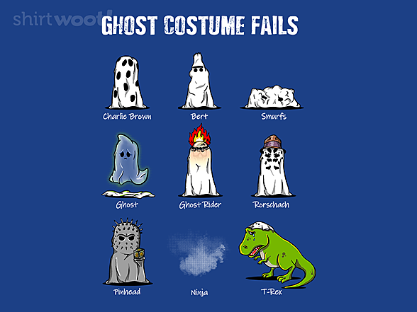 Woot!: Ghost Costume Fails
