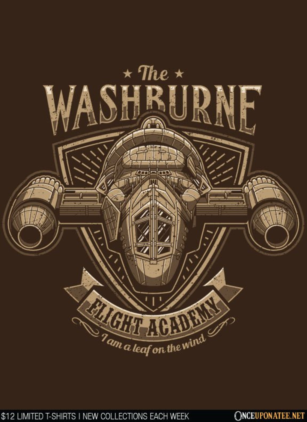 Once Upon a Tee: Washburne Flight Academy