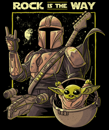 Qwertee: Rock is the Way