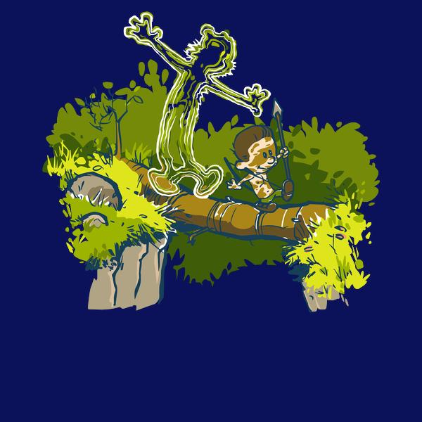 NeatoShop: Pretend Jungle Monster