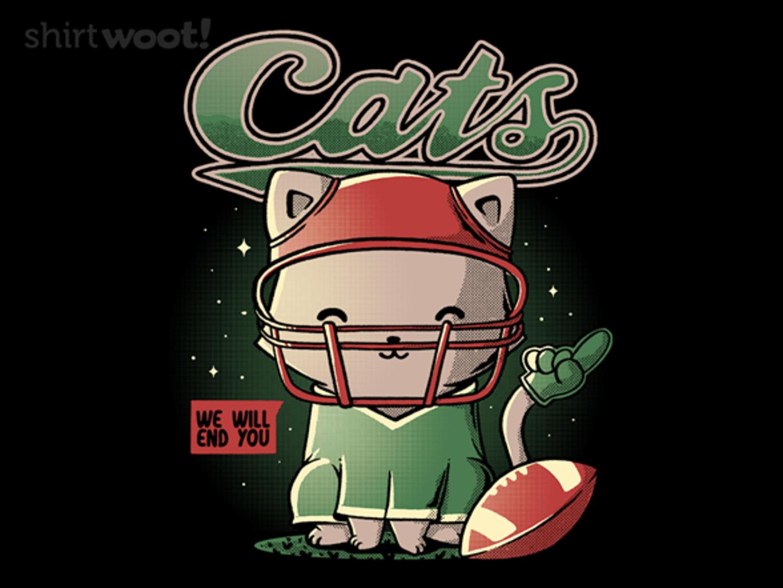 Woot!: Cats Football