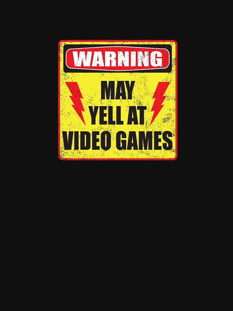 RedBubble: Gamer Warning