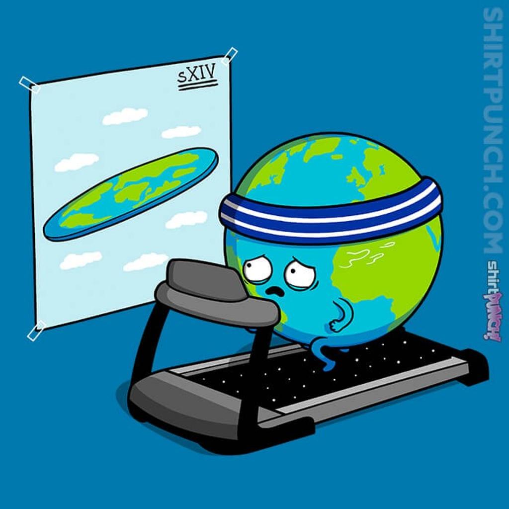 ShirtPunch: Round Earth