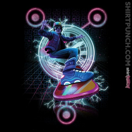 ShirtPunch: Hoverboard to the Future