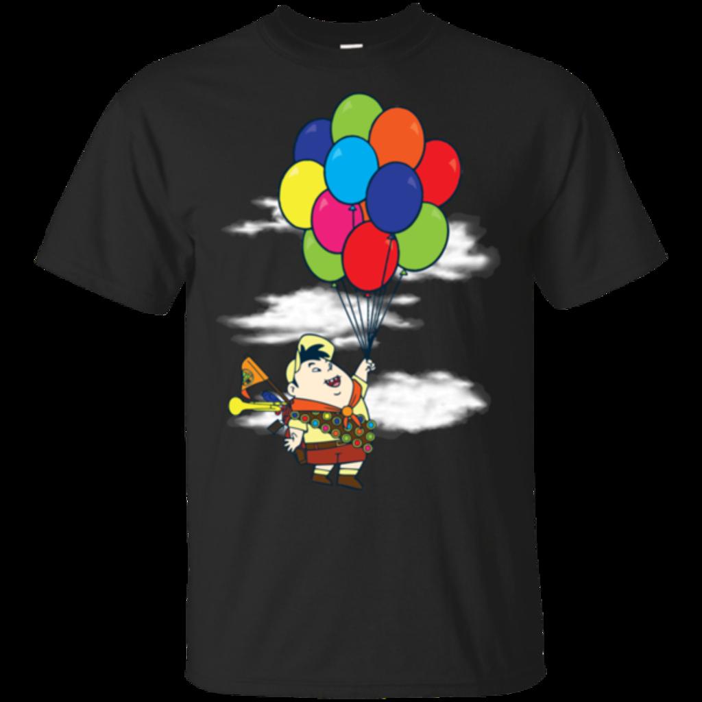 Pop-Up Tee: Flying Balloon Boy