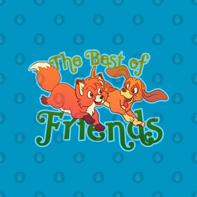 TeePublic: The Best of Friends
