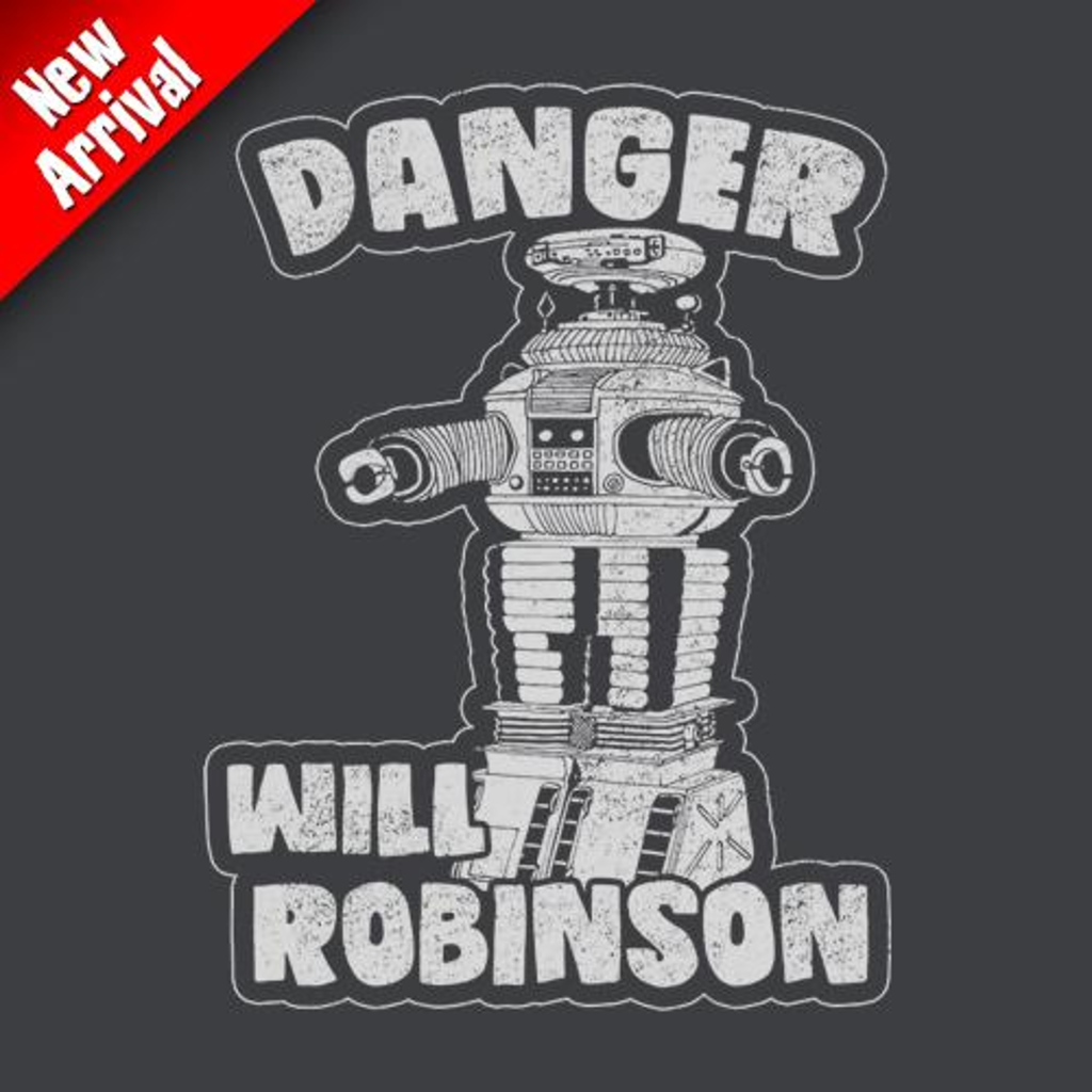 Five Finger Tees: Danger Will Robinson T-Shirt