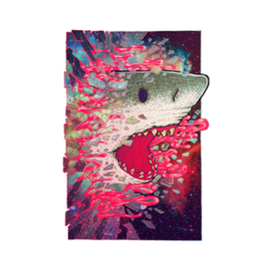 Threadless: SHARK FROM OUTER SPACE