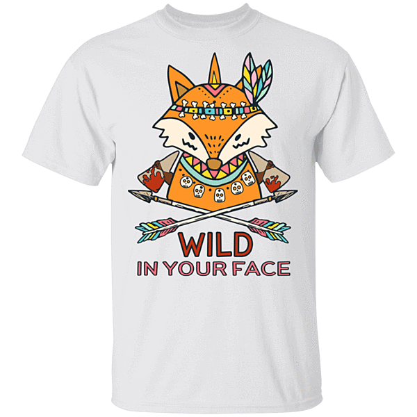 Pop-Up Tee: Wild In Your Face