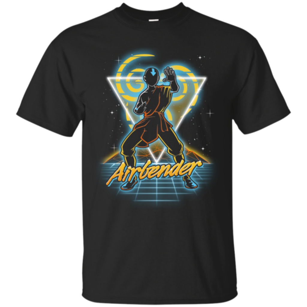 Pop-Up Tee: Retro Airbender