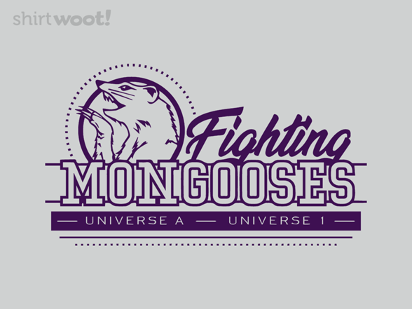 Woot!: Fighting Mongooses - $15.00 + Free shipping