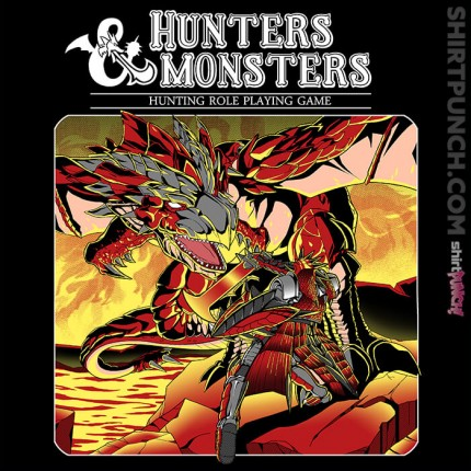 ShirtPunch: Hunters and Monsters