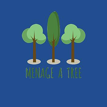 BustedTees: Menage A Tree
