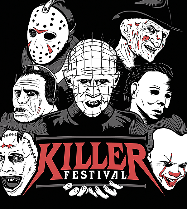 teeVillain: Killer Fest