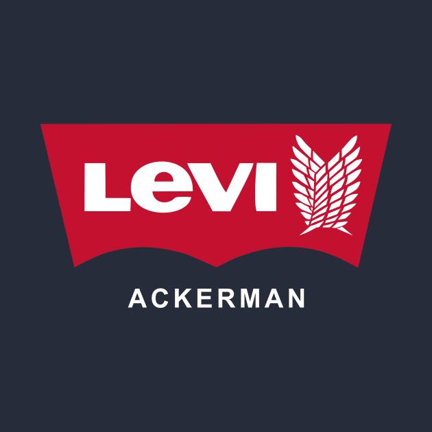 TeePublic: Levi Ackerman (Blue)