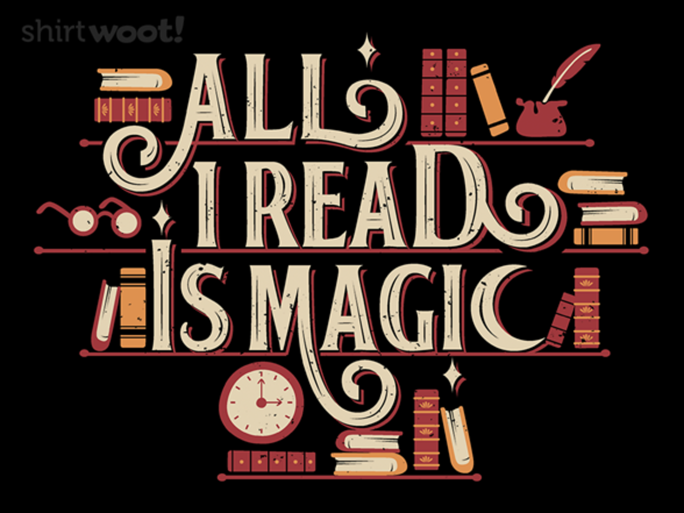 Woot!: All I read is Magic