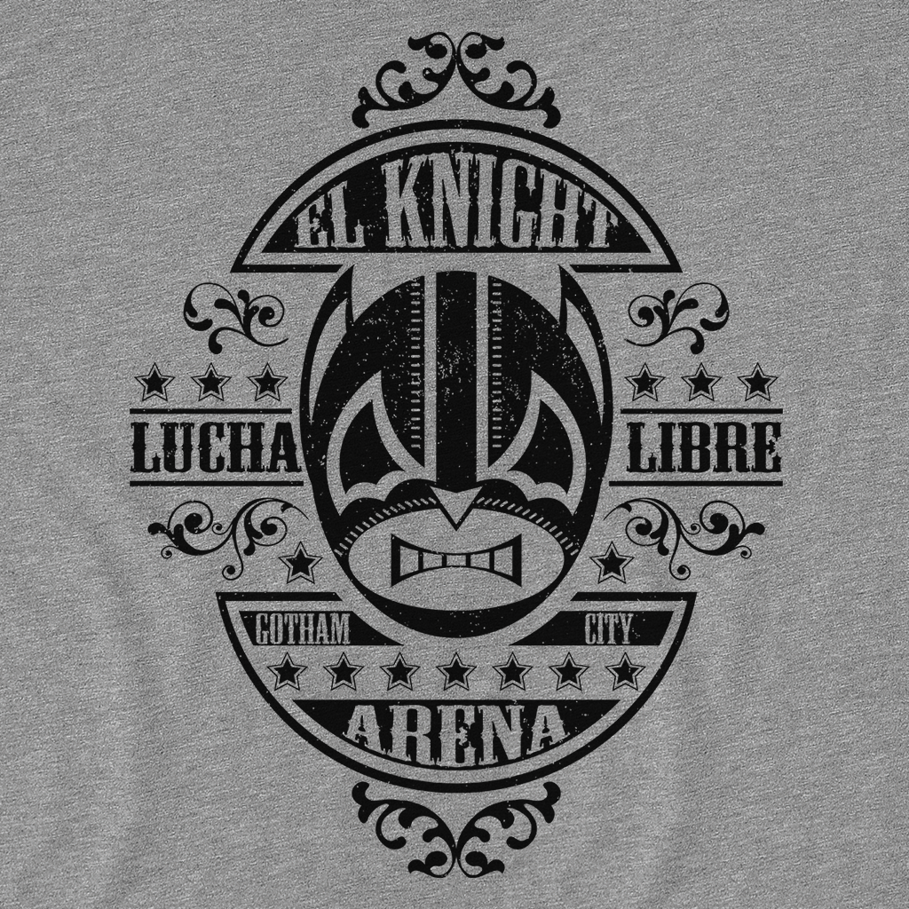 Pop-Up Tee: Lucha Knight