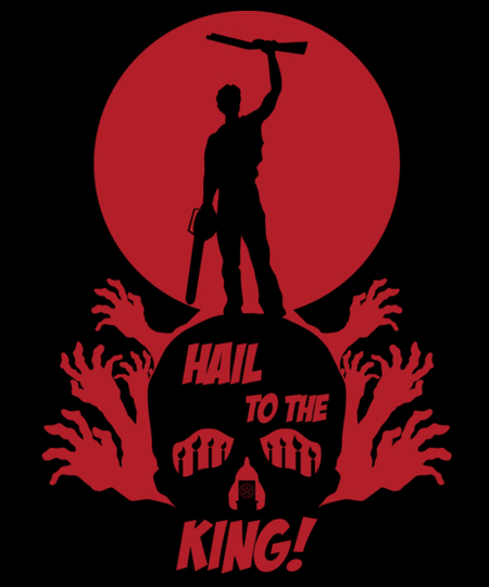 Qwertee: Hail to the King