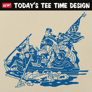6 Dollar Shirts: Washington Crossing