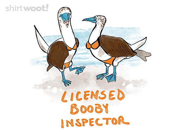 Woot!: Licensed Booby Inspector