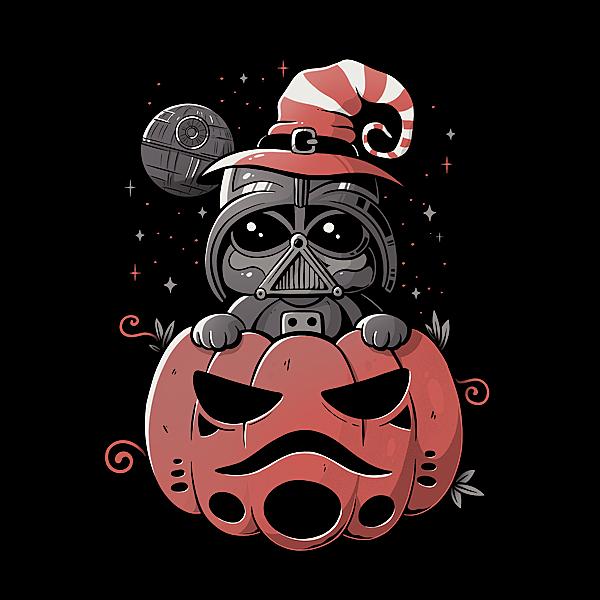 NeatoShop: Dark Side Pumpkin
