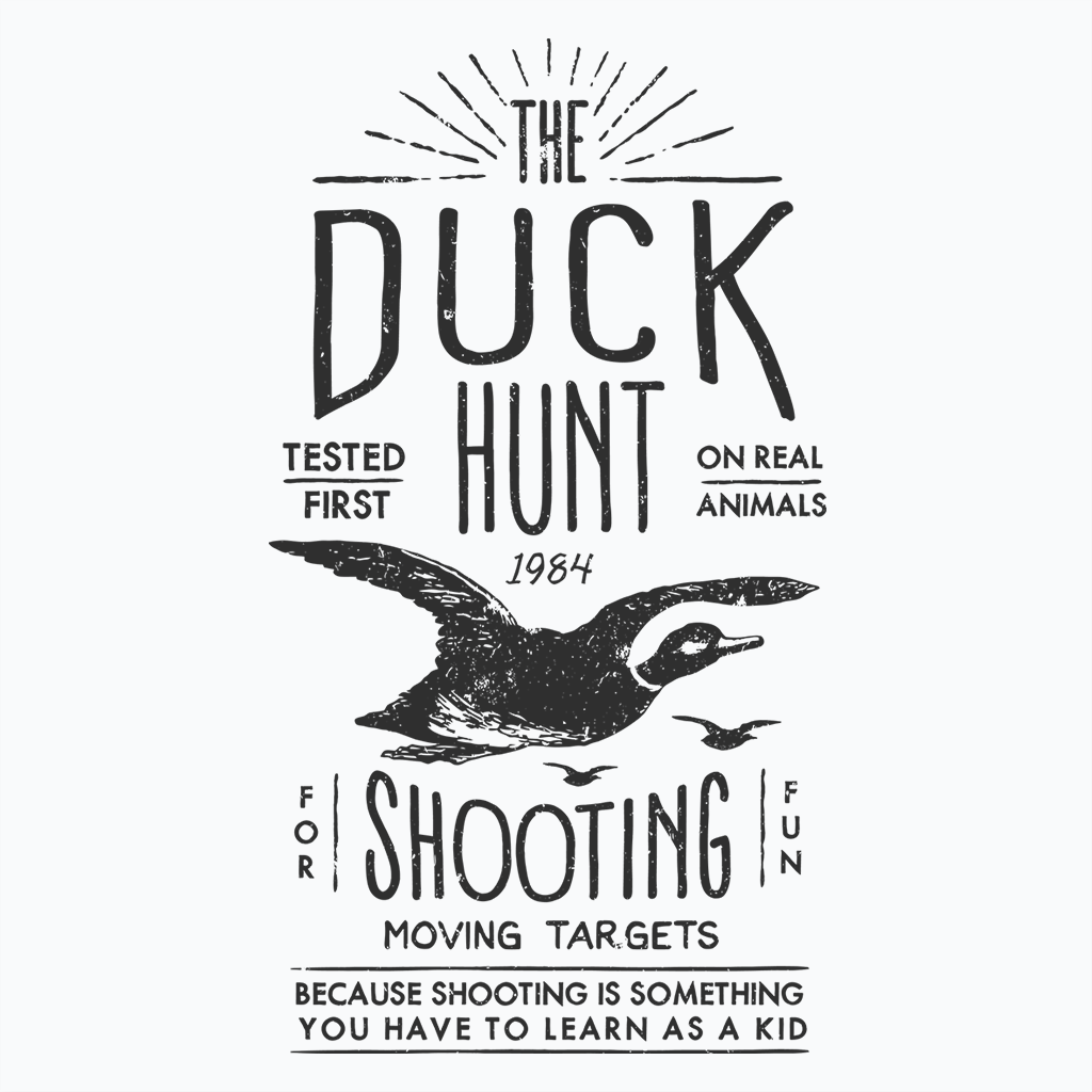 Pop-Up Tee: Daily Deal - Duck Hunt