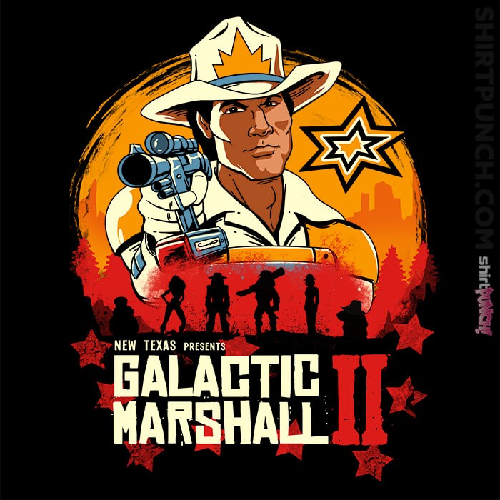 ShirtPunch: Red Galactic Marshall 2