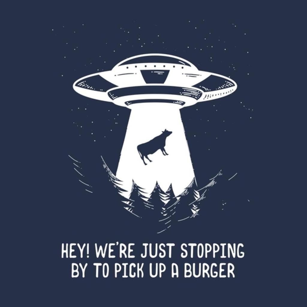 BustedTees: Alien Drive-Thru