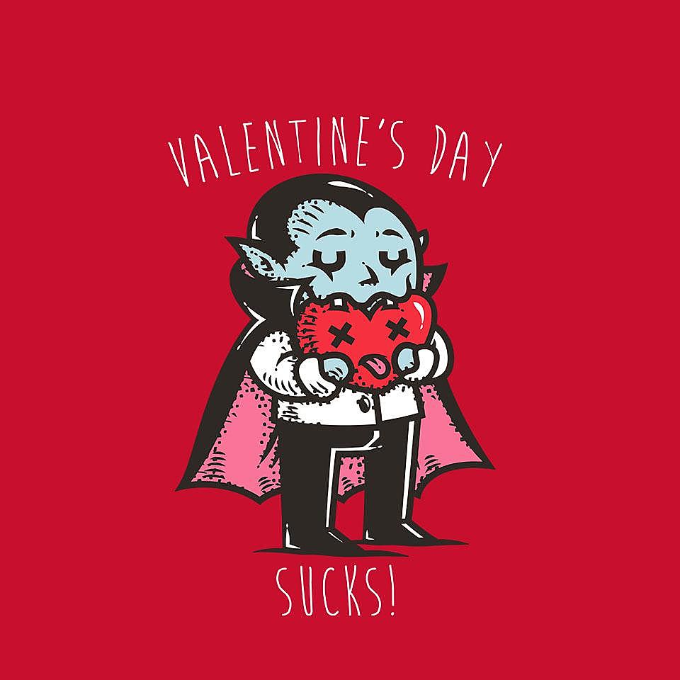 TeeFury: Valentine's Day Sucks!
