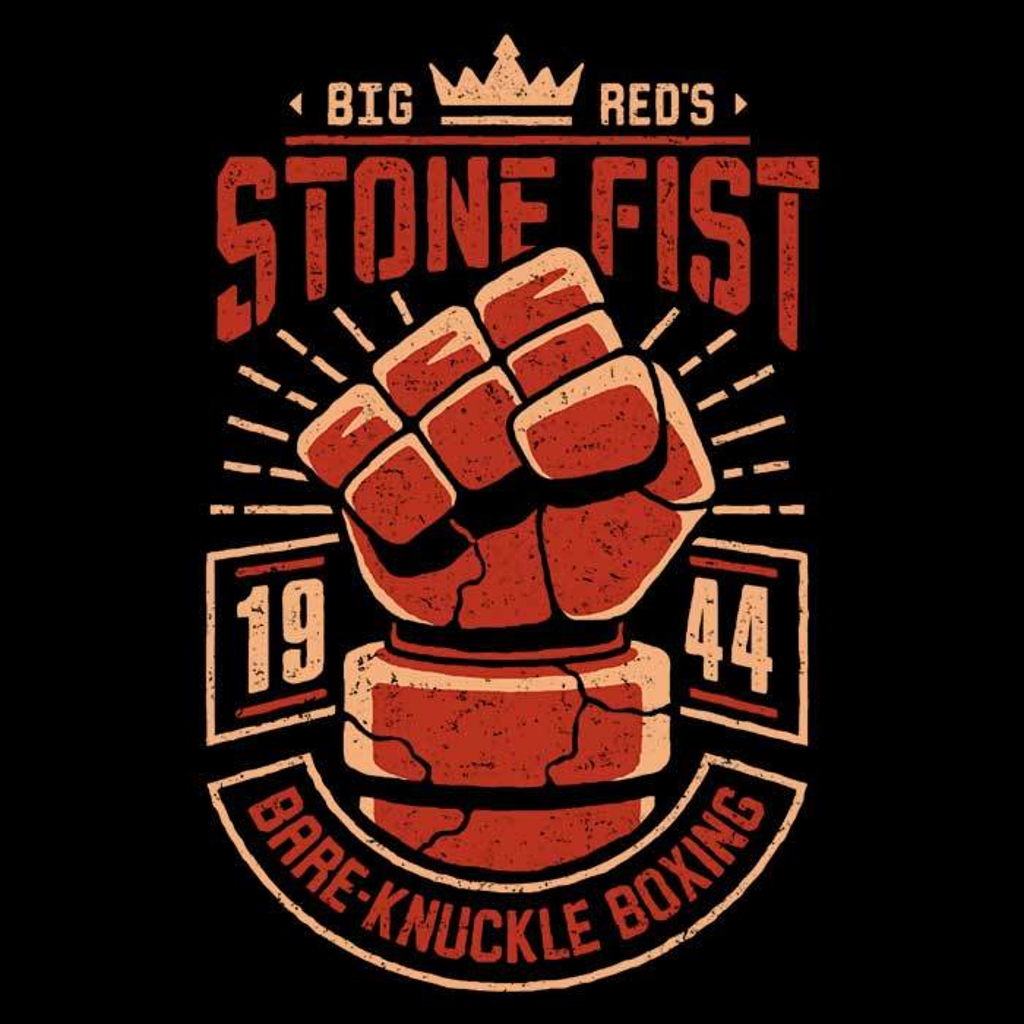 Once Upon a Tee: Stone Fist Boxing