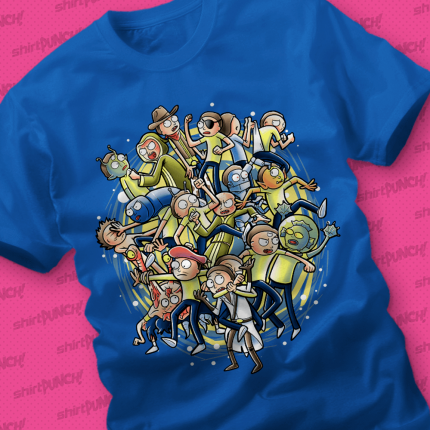 ShirtPunch: Mortys