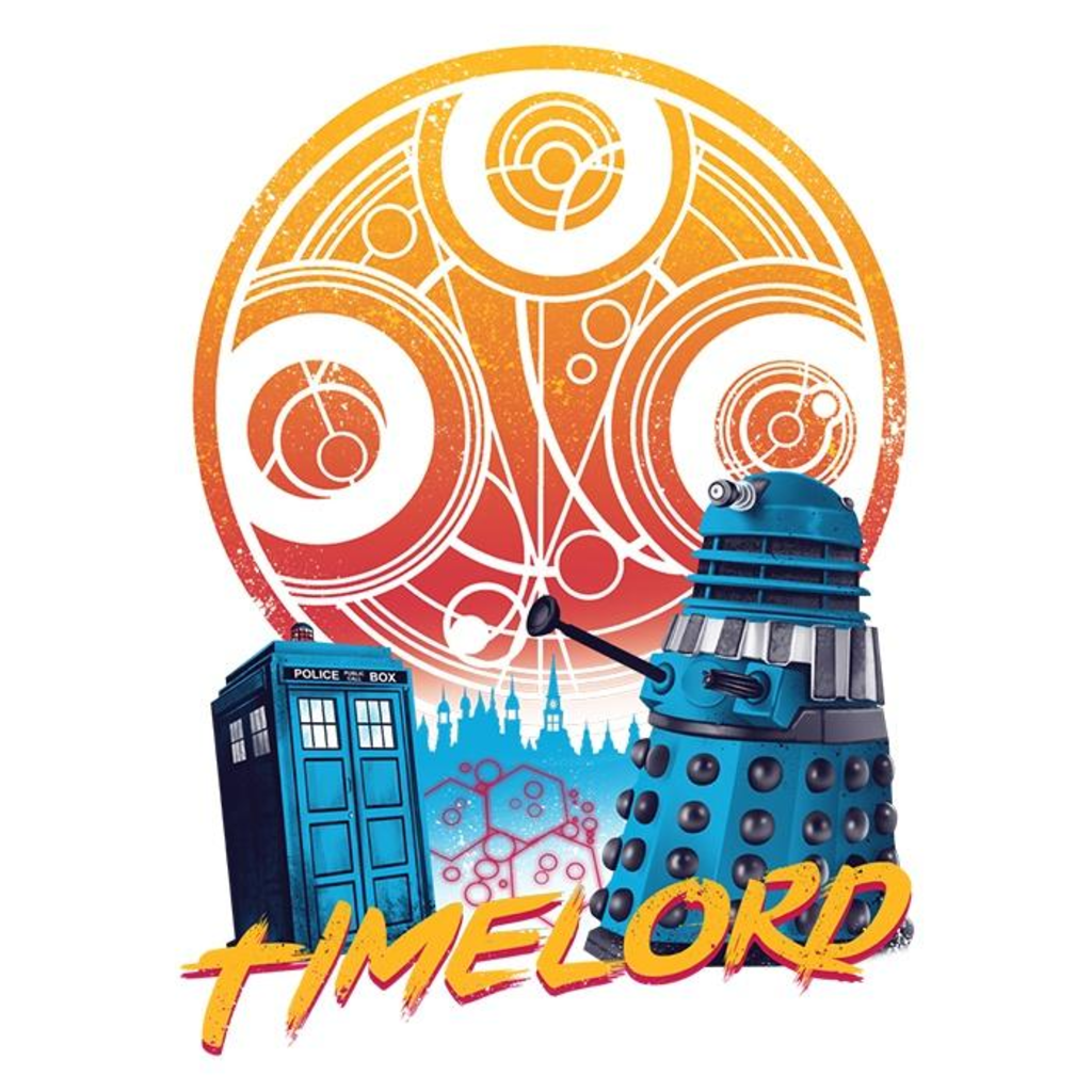 Once Upon a Tee: Rad Time Lord