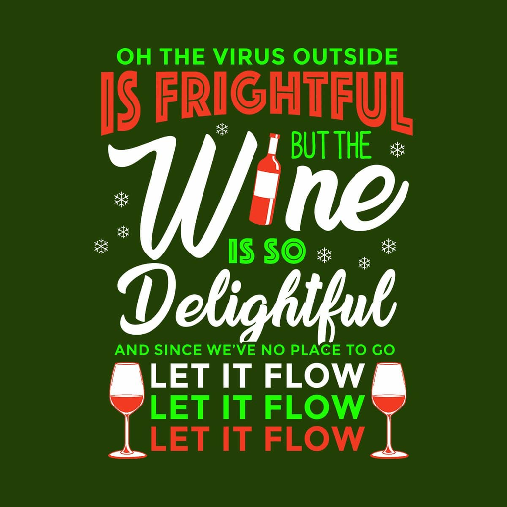 BustedTees: Wine Is So Delightful