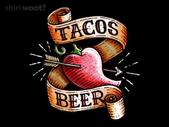 Woot!: Tacos Heart Beer