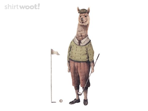 Woot!: Alpaca Golf Club