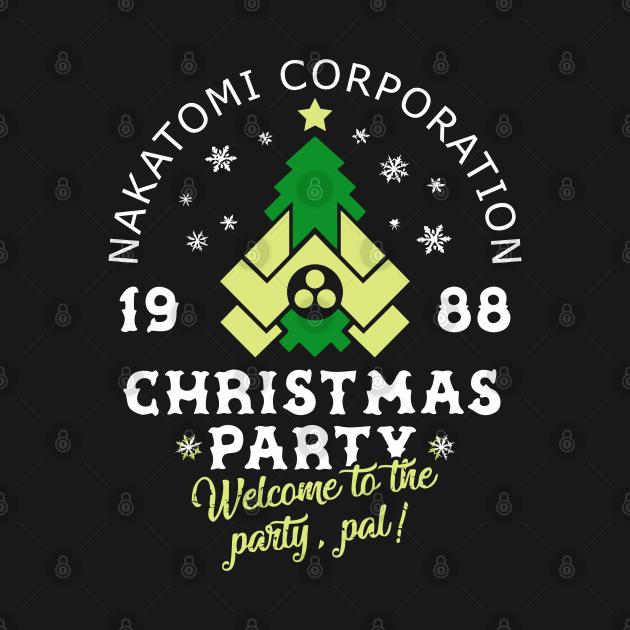 TeePublic: Die Hard Nakatomi Corp Christmas Party