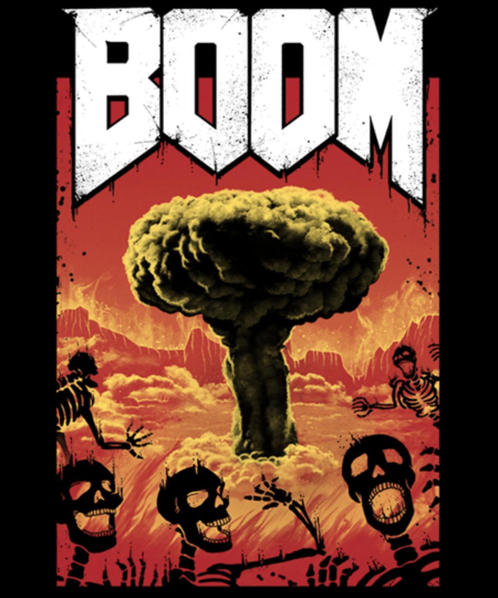 Qwertee: Nuclear Boom