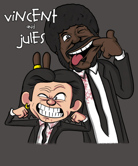 Qwertee: Vincent and Jules