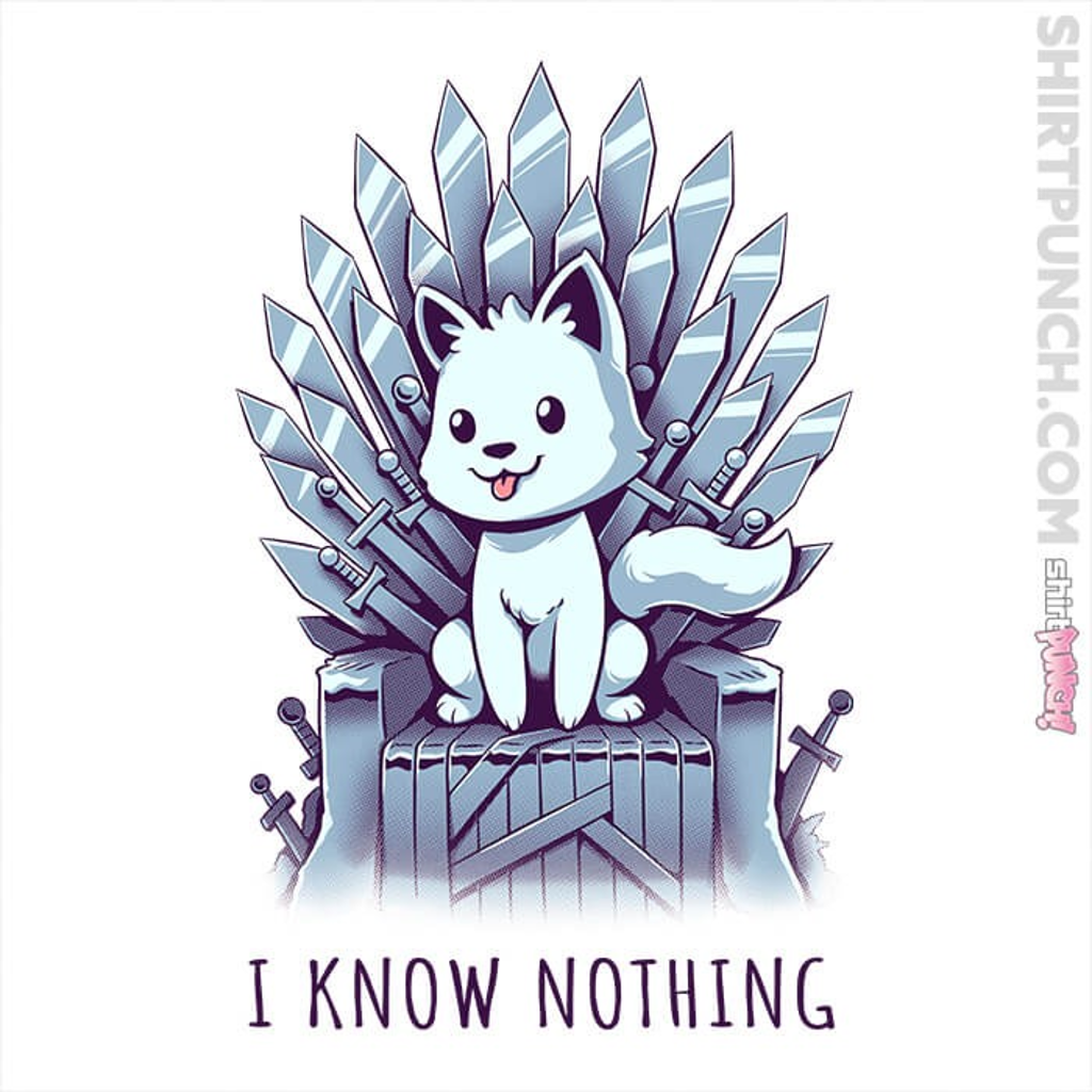 ShirtPunch: I Know Nothing