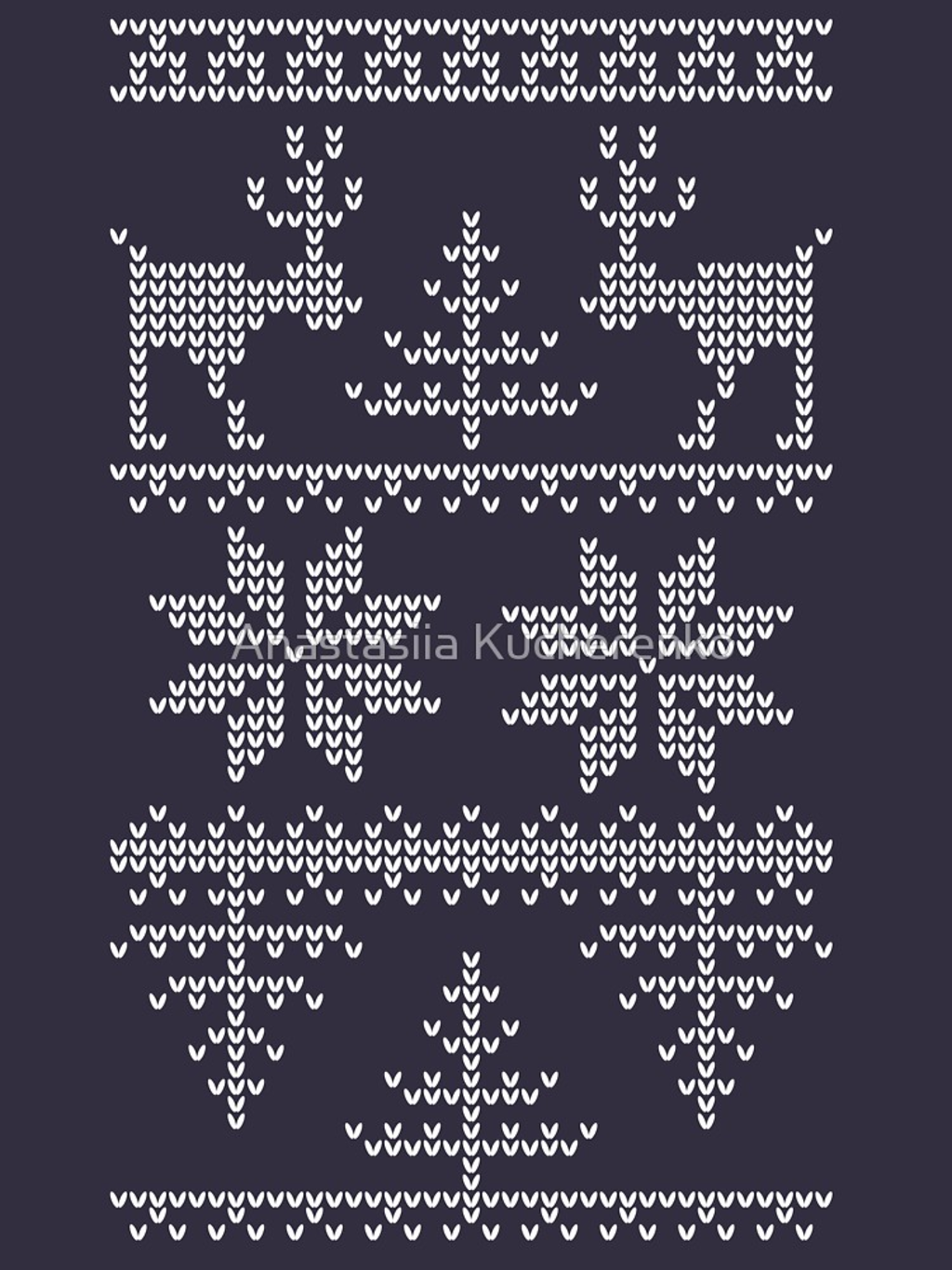 RedBubble: nordic knit pattern