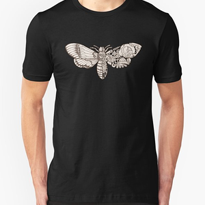 RedBubble: death head moth scifi