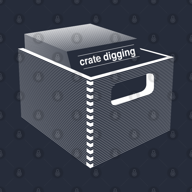 TeePublic: Crate Digging