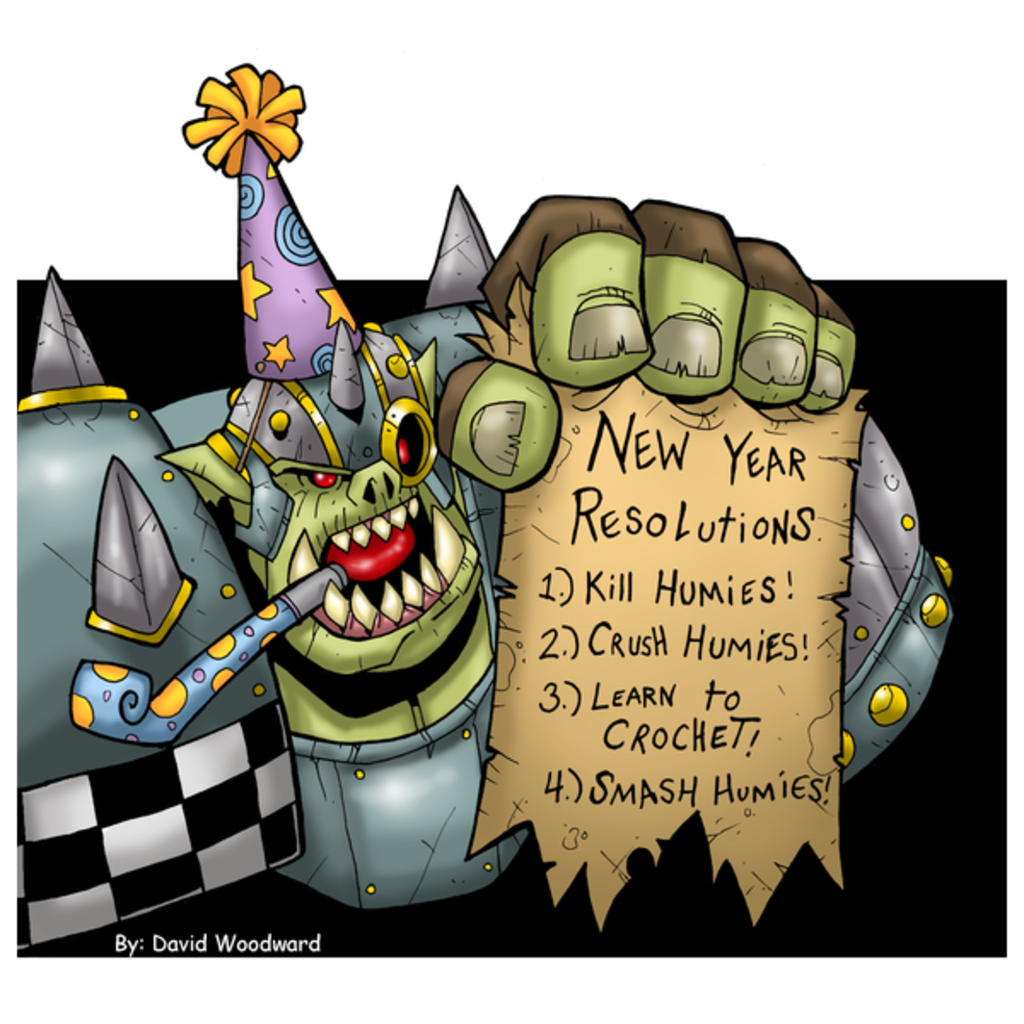 NeatoShop: New Year Orc