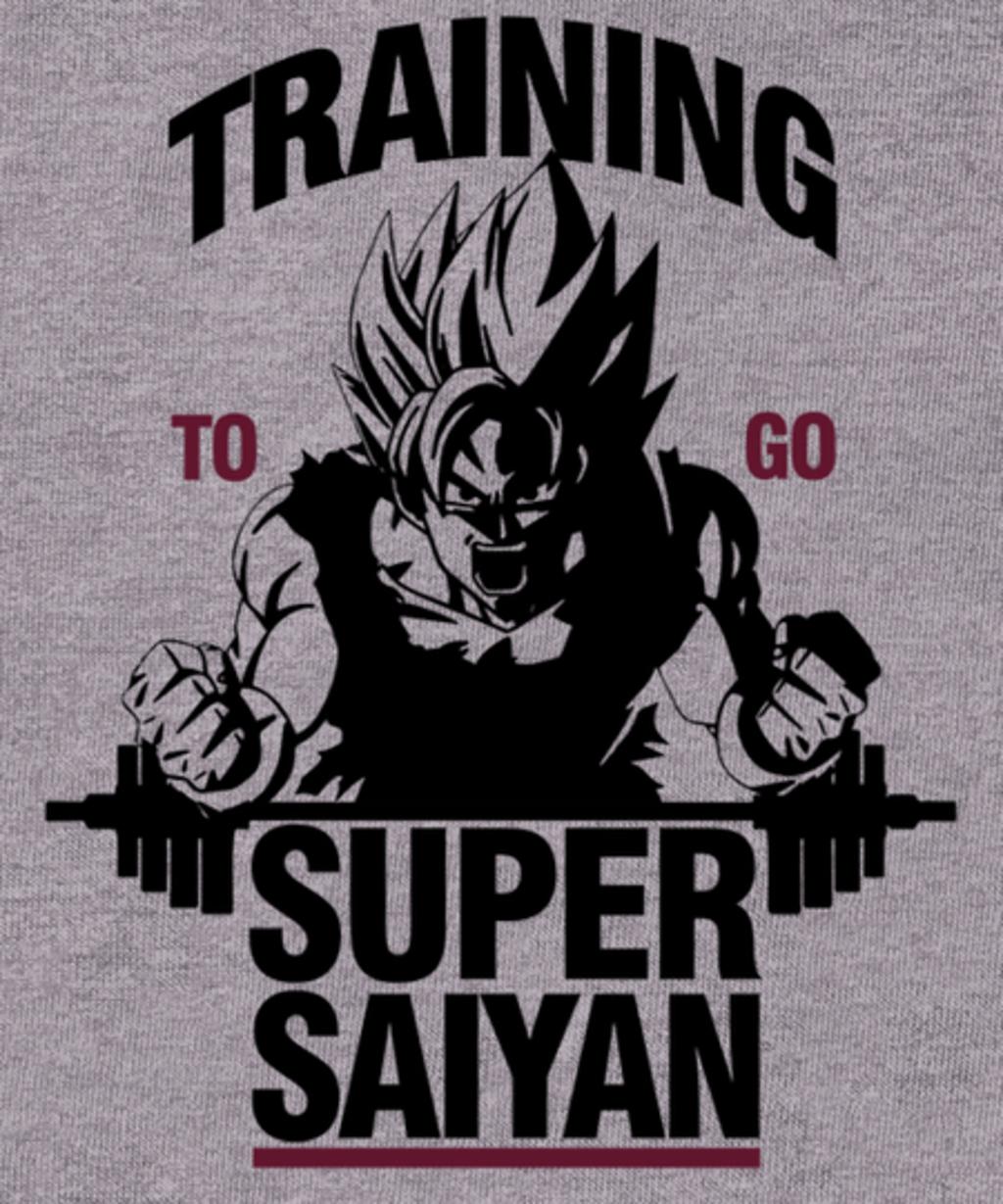 Qwertee: Training to Go Super Saiyan