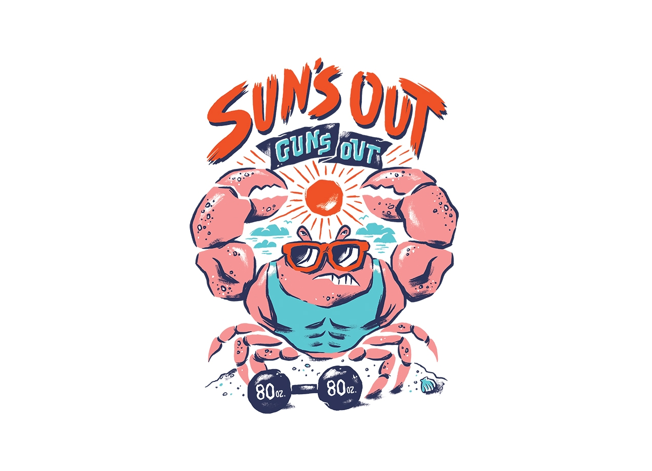Threadless: Sun's Out Guns Out