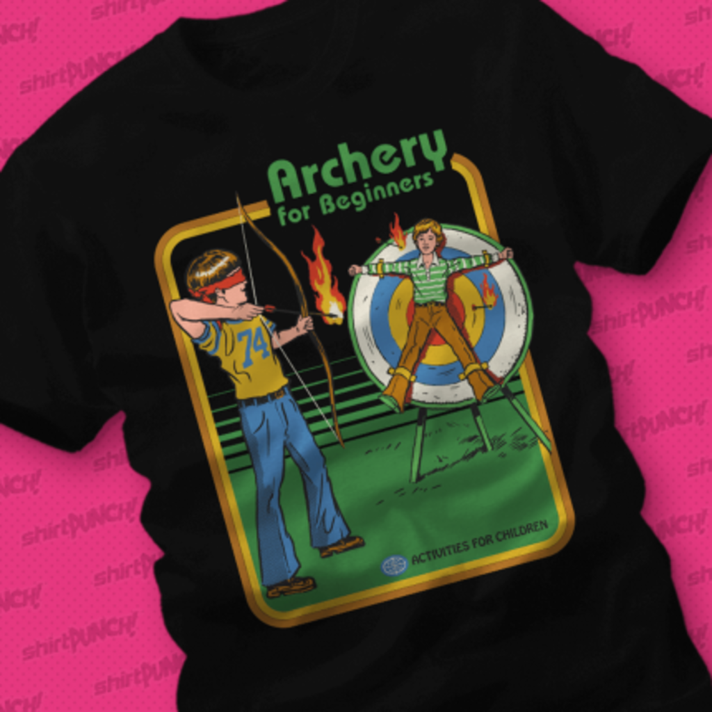 ShirtPunch: Archery for Beginners