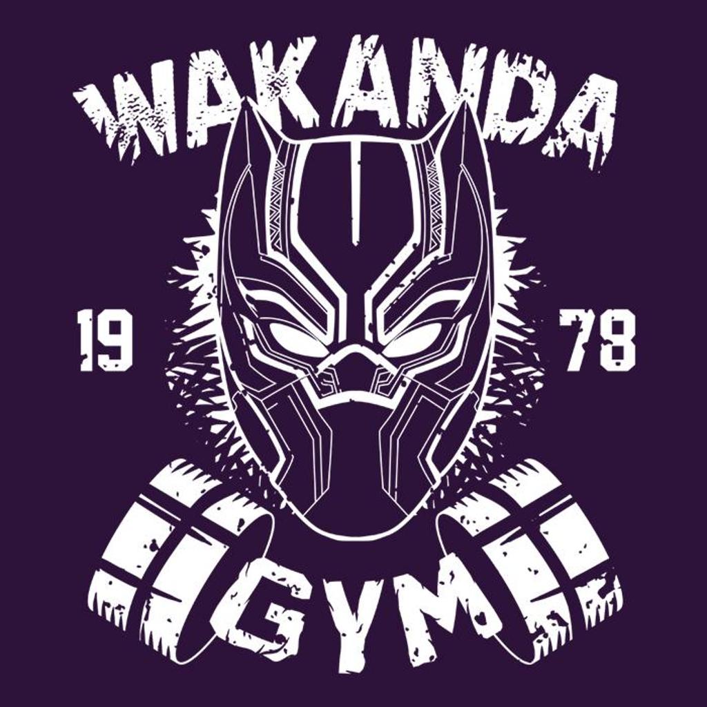 Once Upon a Tee: Wakanda Gym