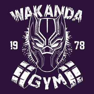 Once Upon a Tee: Wakanda Gym