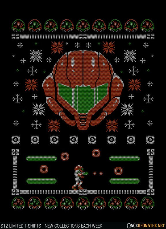 Once Upon a Tee: Ugly Metroid Sweater