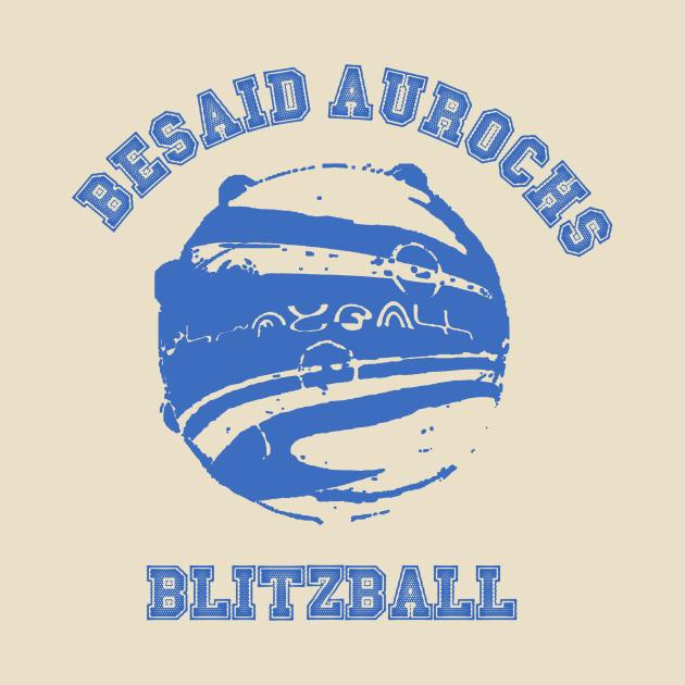 TeePublic: Besaid Aurochs Blitzball